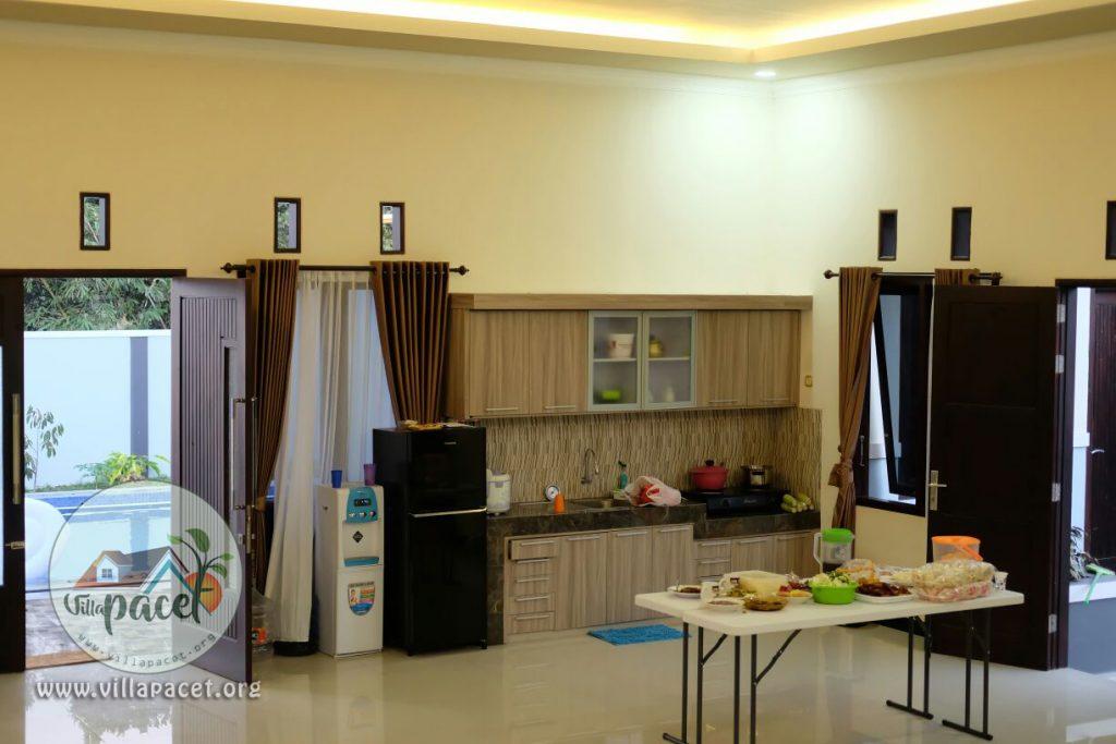 dapur bersih villa samawa pacet