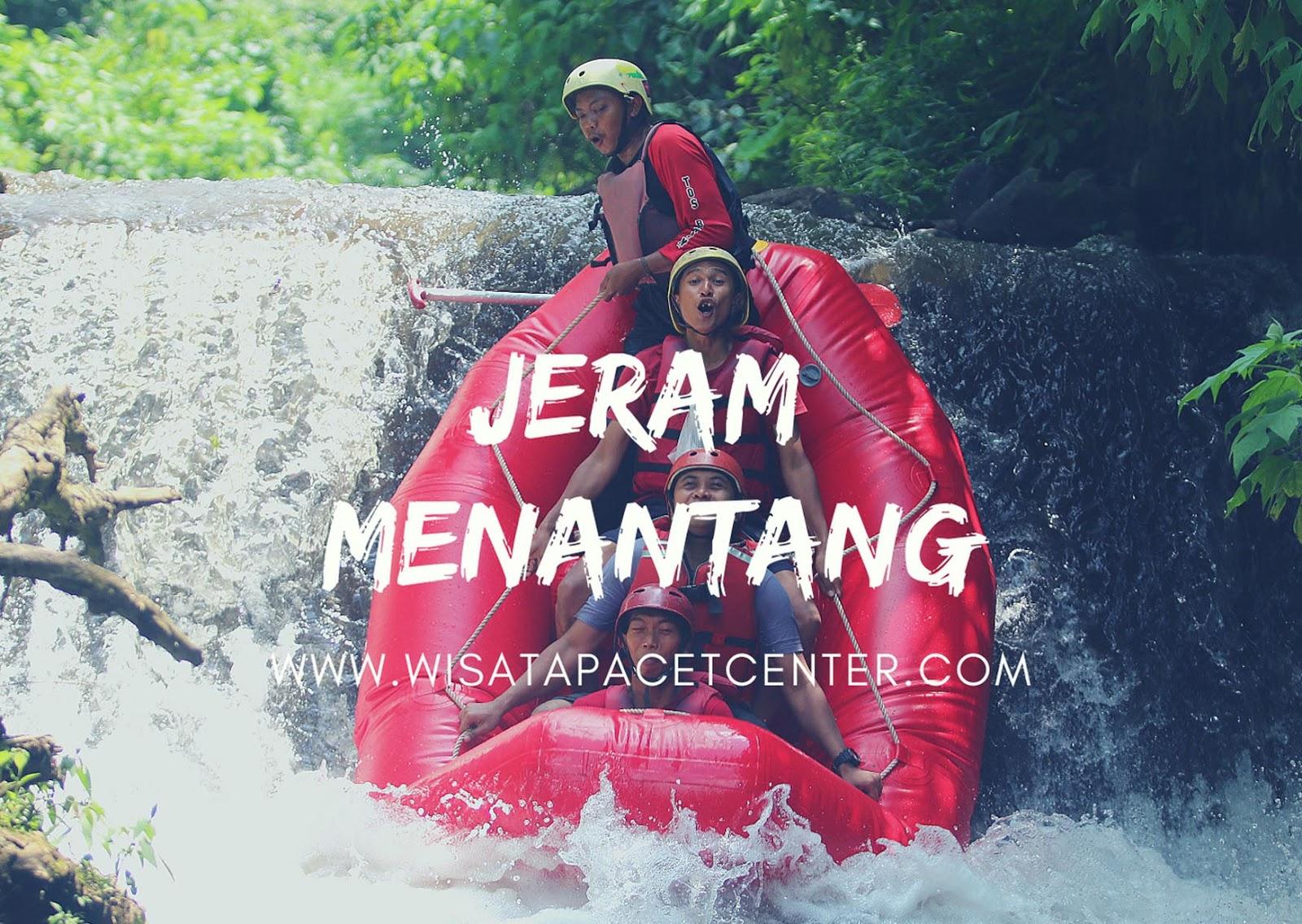Rafting Pacet Sungai Kromong Mojokerto Yang menantang