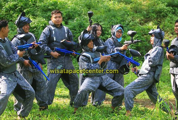 Seru ! Paintball Pacet Bermain Perang-perangan Ala Game PUBG